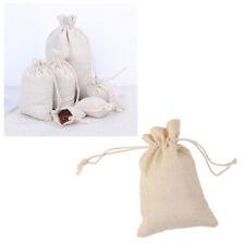 10pcs Burlap Bags Jute Drawstring Gift Bags Sack Pouch DIY Craft Favor Bags