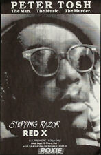 Stepping Razor Red X Peter Tosh Documentary Movie Premiere Poster Roxie SF 1992