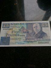 More details for rare northern bank error £5