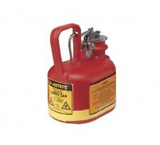 Type1 2L Justrite Oval Poly Can for Corrosive/Acids flammables -14065Z