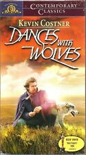 Dances With Wolves VHS 1999 Kevin Costner Mary McDonnell Grahan Greene NEW VTG