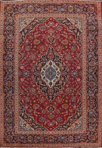 Vintage Floral Ardakan Traditional Area Rug Wool Handmade Oriental Carpet 8'x12'