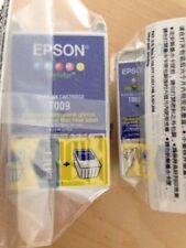 Genuine Epson Ink Cartridges - T007 BLACK & T009 COLOUR / STYLUS 900 1270 1275
