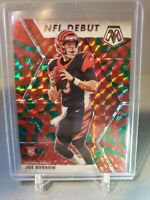 2020 Panini Mosaic Joe Burrow Debut RC #261 GREEN REACTIVE PRIZM