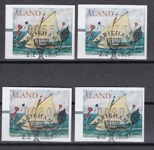 Gestempelte Automatenbriefmarken aus Aland