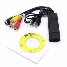 Easycap USB 2.0 Audio Video VHS a DVD Conversor Tarjeta de captura Adaptador Grabadora
