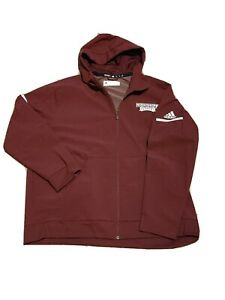 Mississippi State Bulldogs NCAA ClimaWarm Full-Zip Game Built Rain Jacket 3XL