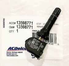 ACDelco Bagged 13598771 GM Original Equipment TPMS Tire Pressure Monitoring