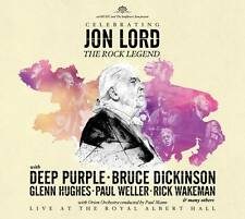 JON LORD Celebrating The Rock Legend 2CD Live At Royal Albert Hall Deep Purple