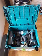 Makita DLX2176TJ Combi Trapano E Autista Impatto Kit con 2x 6.0Ah le batterie & Caricabatteria
