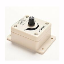 12V 8A LED Strip Light Switch LED Stepless Dimmer Switch Brightness Controller