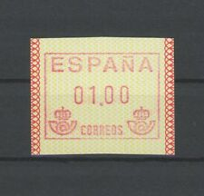 SPANIEN SPAIN ATM AUTOMATENMARKE ** MNH m1125