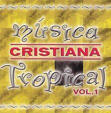 Música Cristiana Tropical, Vol. 1 by Various Artists (CD, 2005, Vida Publishers)