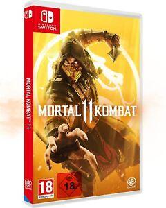 Mortal Kombat 11 Nintendo Switch UNCUT NEUWARE OVP