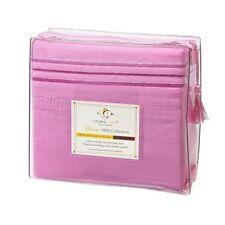 1800 Count Deep Pocket Bed Sheet Set. Pink - Breast Cancer Awareness Month