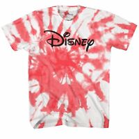 Disney Logo Tie Dye Adult Tee Graphic T-Shirt for Men Tshirt