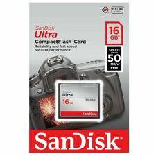 Sandisk Ultra 16GB 16G CF Compact Flash Memory Card 50MB/s
