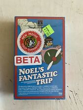 Noel's Fantastic Trip beta Betamax BRAND NEW sealed TOEI animation RCA rare htf