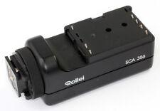 Rolleflex TTL-BLITZADAPTER Rollei SCA-356 für Metz-Systemblitze Made in Germany!