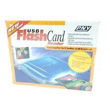 PNY Technologies USB Flash Card Reader IBM Microdrives Smartmedia Compactflash