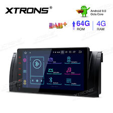 """9"""" Android 9.0 8-Core 4GB+64GB Car Stereo Radio CANbus GPS for BMW X5 Series E53"""