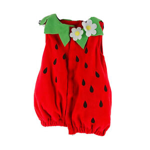 Old Navy Girl's Red Strawberry Halloween Costume Size 2T-3T