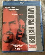 American History X Blu Ray Movie Edward Norton Edward Furlong Brand New