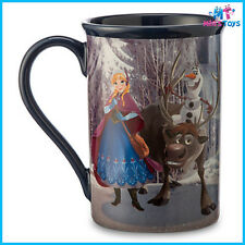 Disney Frozen Friends Anna Elsa Kristoff Sven Olaf Ceramic Mug brand new