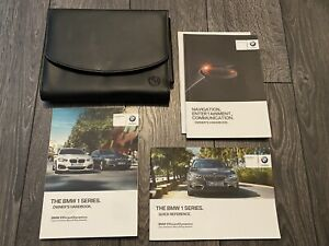 BMW 1 SERIES F21 F20 OWNERS USER HANDBOOK MANUAL & WALLET SET * 2015-2018 M135