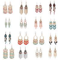 Fashion Earring Beauty Crystal Bead Jewelry Drop Dangle Eardrop Beauty Gift New