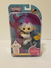 New Fingerlings Interactive White Baby Monkey Toy Sophie by WowWee ORIGINAL RARE