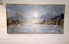 Lee Reynolds grand tableau Huile sur toile XXème OIL PAINTING C.1940  153x76,5cm
