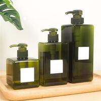 100ml - 650ml LEERE Flaschen Shampoo Leer Lotion Kosmetik Behälter Pumpflasche