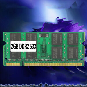 Laptop Memory Ram SO-DIMM PC2-4200 DDR2 533MHz 200PIN 2GB For Notebook