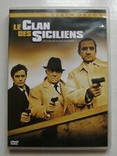 "ALAIN DELON - JEAN GABIN- LINO VENTURA  "" LE CLAN DES SICILIENS      ""  DVD NEUF"