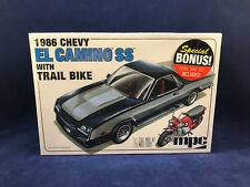 MPC 1986 Chevy El Camino SS with Trail Bike 1:25 Scale Plastic Model Kit 888 NIB