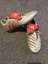 RARE VINTAGE Adidas Beckham Predators Silver Size 10