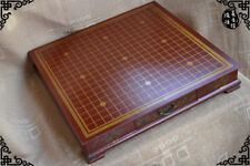 China Old antique wooden Flower Bird Drawer weiqi game of go