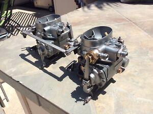 Mercedes Benz 220s Dual 2 Barrel Solex Carburetors w180,  220s