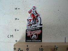 STICKER,DECAL SJAAK VERWAAIJEN NO 15 MOTOCROSS TEAM TEXSHOP MX CROSS
