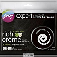 Permanent Hair Dye  Natural Black By Godrej