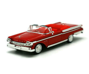 Mercury Turnpike Cruiser 1957 Red 1/43 Scale Collection Diecast Car YAT MING