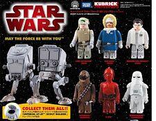 STAR WARS DX Series 2 Medicom Kubrick Figure 7 pcs set with Imperial AT-ST
