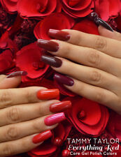 """Tammy Taylor Nails - """"TEN EVERYTHING RED"""" COLLECTION GEL POLISH COLORS"""