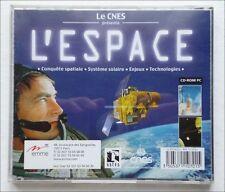 CNES - L'ESPACE - CD-ROM PC