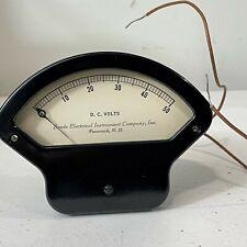 Vintage Beede Electrical Instrument Co Penacook Nh 150 V Dc Volt Gauge
