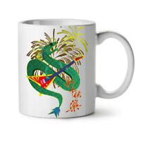 Chinese Year New NEW White Tea Coffee Mug 11 oz | Wellcoda