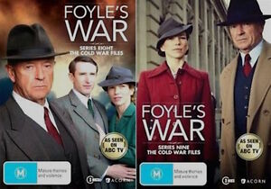 Foyles FOYLE'S WAR Series SEASONS 8 - 9 : NEW DVD