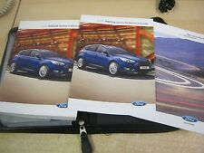 FORD FOCUS  OWNERS MANUAL -OWNERS HANDBOOK PACK 2013-2016+ BLANK SERVICE BOOK