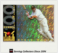 1998/99 Select Cricket Hobby Trading Cards Record Breaker RB3: Steve Waugh